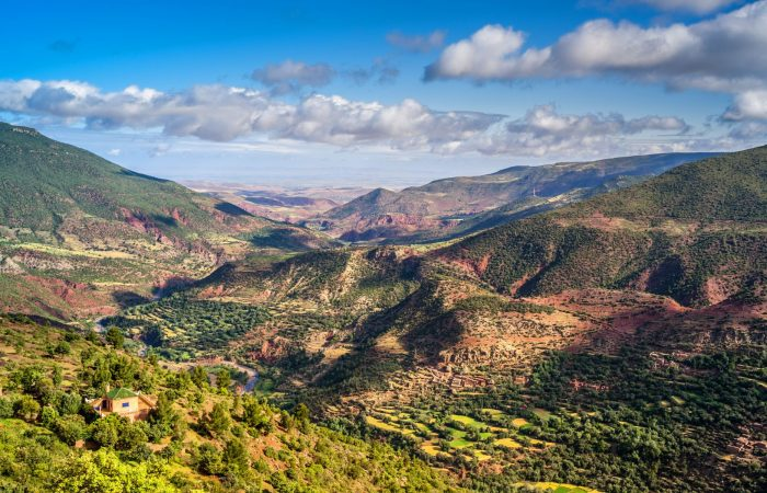 Full day Atlas mountains trek