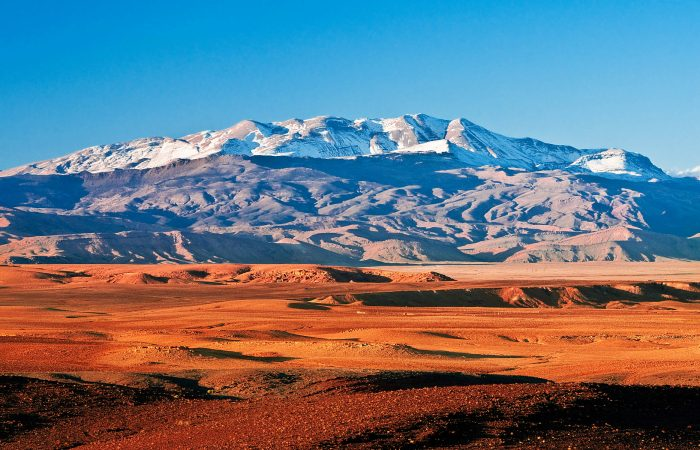 Atlas mountains trek
