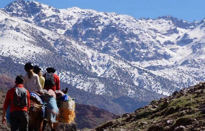 Toubkal and Ourika - 6 days trek